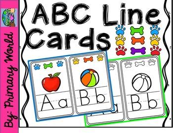 ABC Line-Classroom Display-Dog Theme