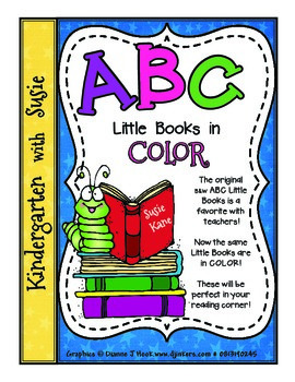 ABC Little Books in Color