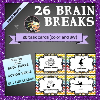 Brain Breaks - ABC Taskcards