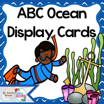 ABC Ocean Display Cards