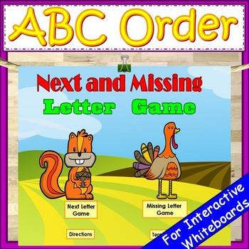 ABC Order Kindergarten First Grade