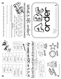 ABC Order Flippy Book