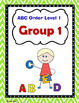 ABC Order Level 1