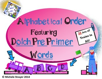 ABC Order Pre - Primer Dolch Words