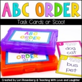 ABC Order Scoot or Task Cards