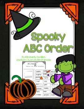ABC Order Spooky