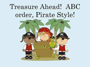 Treasures Ahead! ABC Order { Differentiated Common Core K-