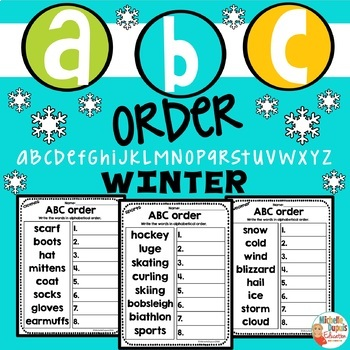 ABC Order WINTER