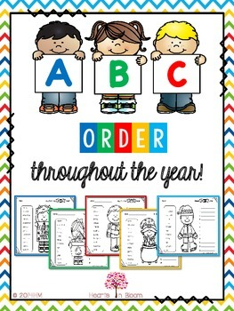 ABC Order throughout the year!