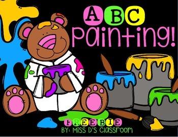 ABC Painting! FREEBIE
