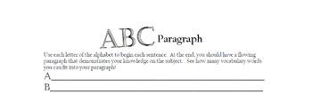 ABC Paragraph
