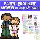 Parent Brochure Editable