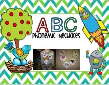 ABC Phonemic Necklaces