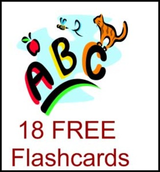 ABC Phonics Flashcards - FREE