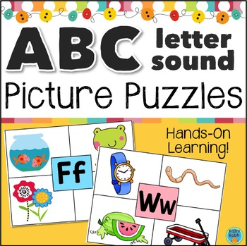 Inital Sounds Letter Puzzles