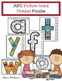 Alphabet Picture Word Number Puzzles
