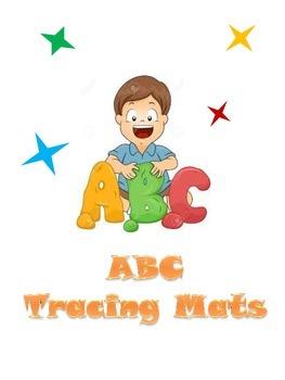 ABC Playdough/Tracing Mats (full-sheet)