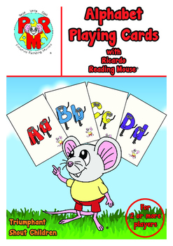 ABC Playing Cards - Flash cards, SNAP, Memory and Word bui