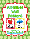 ABC Posters (Rainbow Polka Dots)