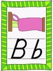 ABC Posters and Flashcards - D'Nealian