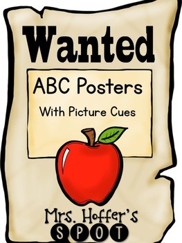 ABC Posters with Pictures {Western}