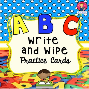 ABC Write and Wipe Practice Cards