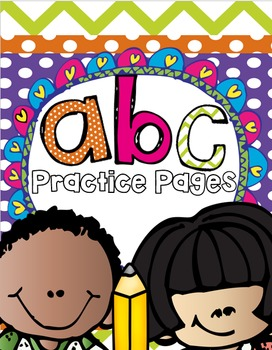 ABC Practice Pages (Lowercase Letters)