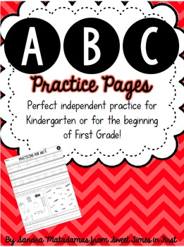 ABC Practice Pages