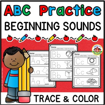 ABC Practice Trace and Color