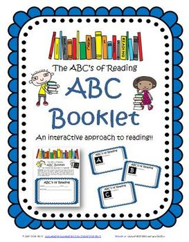 ABC Reading Booklet Activity: Citing Text for Fiction (Ali