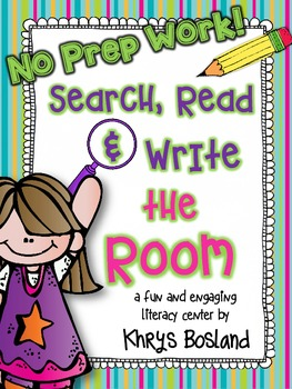 ABC Search, Read, and Write the Room {No Prep Work} {CCSS