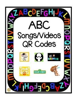 ABC Songs/Videos: QR Codes