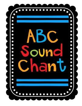 ABC Sound Chant & Flip Book