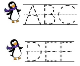 ABC Tracing Penguins