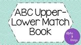 ABC Upper - Lower Match Book