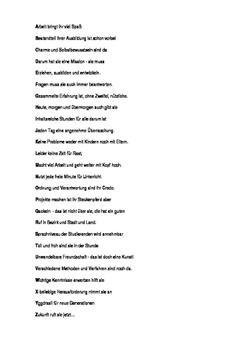 ABC Verse (Die ABC Gedichte)