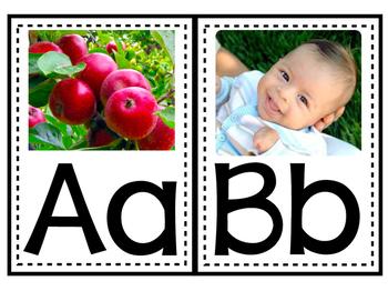 ABC Wall Alphabet Photo Posters