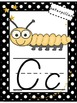 ABC Wall Posters, Set of Small ABC Cards, ABC Strips (Polk