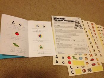 ABC Word Book for use with Lakeshore Learning Alphabet Pic