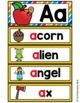 Alphabet Word Wall Cards