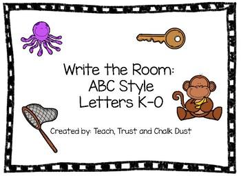 ABC Write the Room K-O
