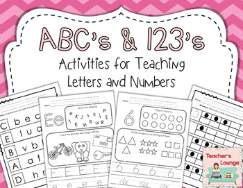 ABC and 123: Teaching Letters and Numbers