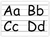 ABC and 25 High Frequency Word Work Mats