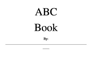 ABC book pages