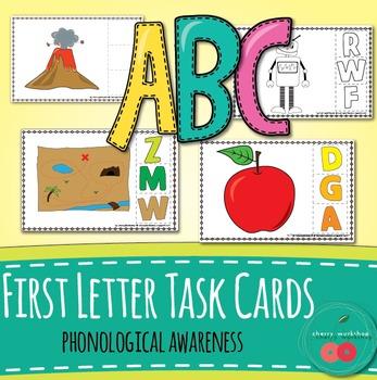 Beginning Sound Task Cards