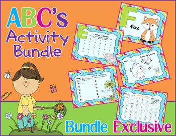 ABC's Activity Bundle