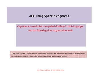 ABC using Cognates