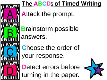 ABCDs of Timed Writing