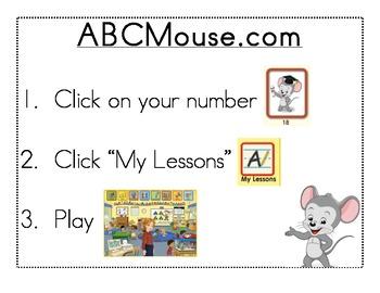 ABCMouse.com Center Sign