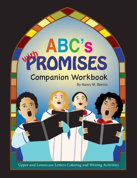 """Coloring Page for Image from """"ABC'S with PROMISES"""": Compan"""